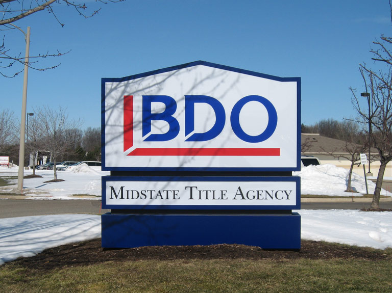 BDO yard sign