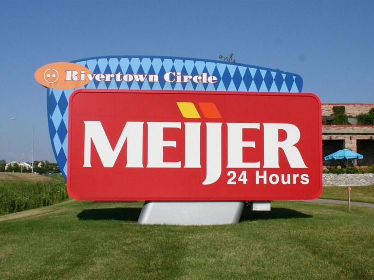 Meijer Rivertown Mall Signmakers Ltd