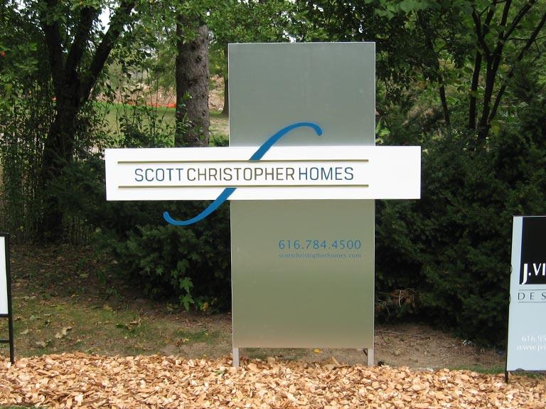 Scott Christopher Homes yard sign