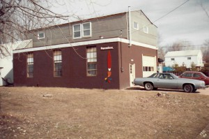 Signmakers, Ltd. building in 1984.